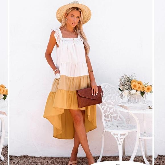 Vici midi dress (brand new unworn)